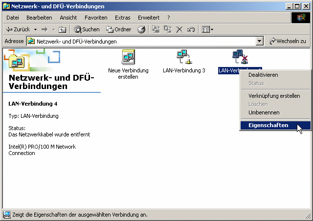 Lfnet Einwahl Per Dsl Mit Windows2000 Internet
